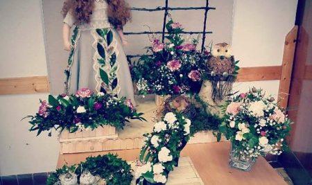 Žákyně oboru zahradník uspěly na floristické soutěži vPlzni