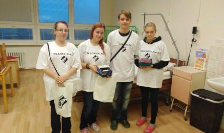 Charitativní sbírky spodporou oboru pečovatelské služby